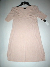 NWT New Designer Natori Night Gown Short Womens S Sleep Shirt Lace Pink ... - $123.50
