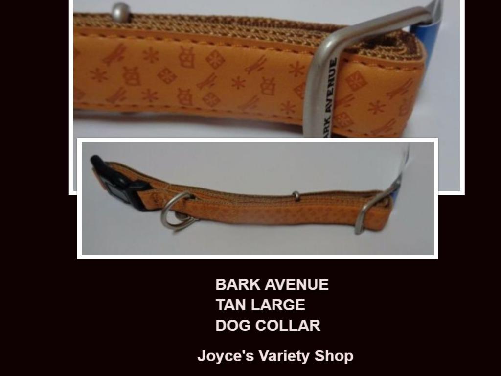 Bark tan collar collage