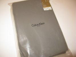 Calvin Klein BOXWOOD French Knot Sycamore King fitted sheet RARE - $81.65