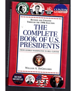 Complete book Of U.S. Presidents by William A. DeGregorio - $8.95