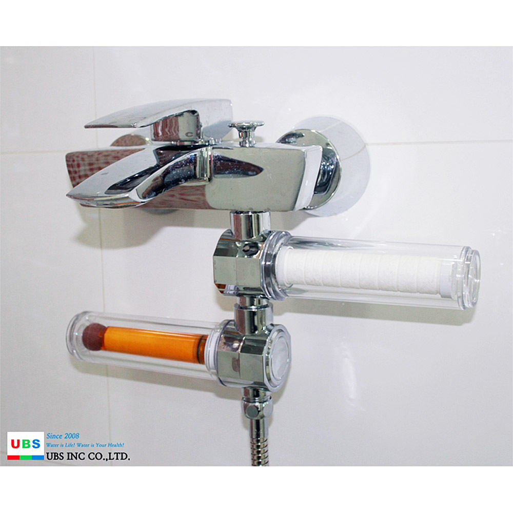 UBS INC Combo B, VitaFresh Shower Filter Deluxe Sedime Shower Filter