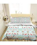 3D Christmas  Xmas 0 Bed Pillowcases Quilt Duvet Cover Set Single Queen ... - $90.76