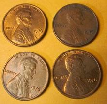 1976 Lincoln Memorial Pennies #6 - $3.00