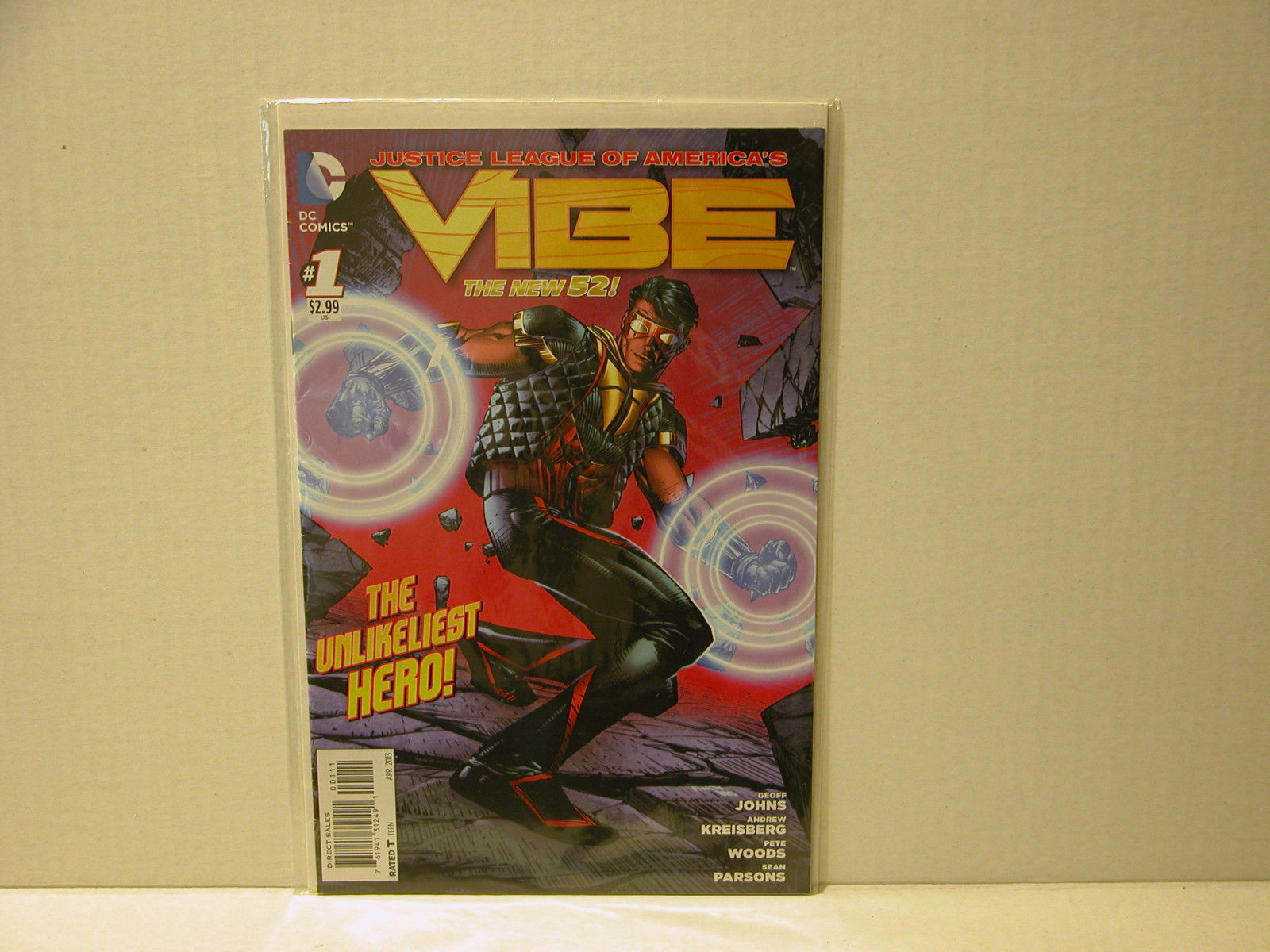Primary image for VIBE #1 AND #5 - NEW 52  FIRST RUN + ALL FLASH #1 - FREE SHIPPING