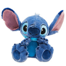 "Disney Parks Stitch Big Feet 11"" Plush New with Tag - £26.75 GBP"