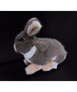 "Dan Brechner Plush BUNNY RABBIT Brown Tan White Stuffed Animal Vintage 8"" - $9.75"