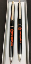 Vtg Paper Mate Double Heart Raytheon United Way  Mechanical Pencil Set - $26.68