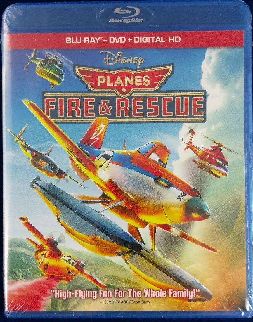 Disney/Pixar Planes Fire and Rescue (Blu-ray + DVD + Digital)