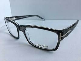 New Tom Ford TF 5013 R92 54mm Rx Rectangular Men's Eyeglasses Frame Italy - $149.99