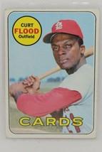 1969 TOPPS #540 CURT FLOOD  SET BREAK - $24.75