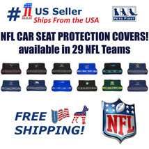 NFL Premium Car Seat Protecting Cover, Durable, Waterproof, Fits most re... - $60.99