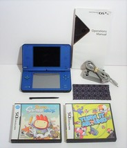 Nintendo DSi XL Launch Edition Blue Handheld System with Games - $74.99
