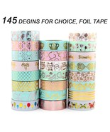 Washi Tapes 30pcs Masking Color Bright Cool Craft Sticker Scrapbooking D... - $57.02