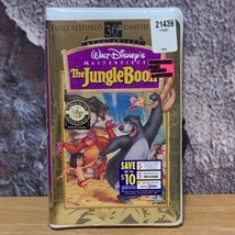The Jungle Book VHS 1997 30th Anniversary Limited Edition Disney Masterp... - $12.76