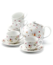 Royal Albert Country Rose Buds 9-Piece Tea Set NEW IN THE BOX - $93.49
