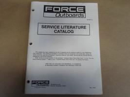 1990 Force Outboards Service Literature Catalog OB 3917-5 Boat 90 Brunswick - $16.59