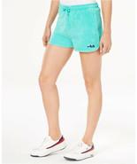 Fila Women's Blue Follie Terry Shorts in Cockatoo, Medium - $17.81