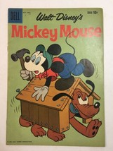 1959 Walt Disney's Comic Mickey Mouse - Goofy Cover Silver Comic Dell #6... - $17.05