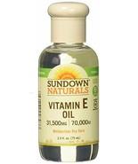 Sundown Naturals Vitamin E Oil 2.50 oz  - $15.45