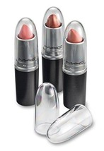 Clear Acrylic Lipstick Caps Replaces Original Individual MAC See Your Fa... - $21.98