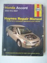 Honda Accord Haynes Repair Manual 2003-2007 Shop Used - $23.05