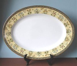 """Wedgwood India Serving Platter Oval 15.25"""" New - $142.90"""