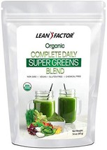Organic Super Greens Blend - Complete Daily Superfood Formula - Barley Grass + W - $28.70