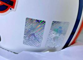 BO JACKSON & CAM NEWTON / AUTOGRAPHED AUBURN TIGERS MINI HELMET / PLAYER HOLOS image 7