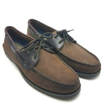 Sperry Top-Sider Men's Leeward Boat Shoes Nubuck Brown 0777896 SZ 13 M - $32.37