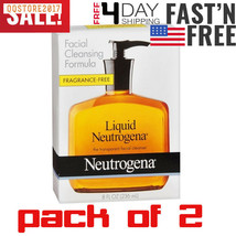 2 pack Liquid Neutrogena Fragrance-Free Facial Cleanser with Glycerin, - $17.92
