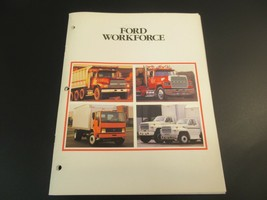 Ford Workforce Truck Brochure Sales 1990s LT8000 LN7000 LTLS9000 - $14.50
