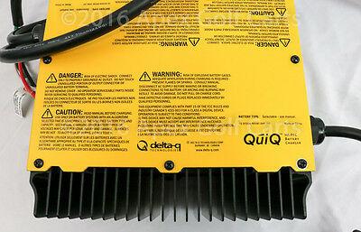 Delta-Q QuiQ OnBoard 48V Battery Charger 912-4800-D1 Golf Cart With Remote DEL