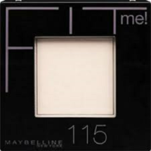 Maybelline Fit Me  Set + Smooth Pressed Powder 115 Ivory - $3.99