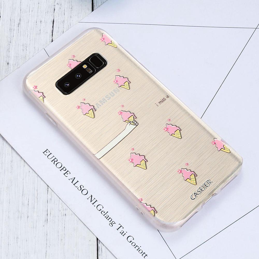 CASEIER® Luxury Phone Cases For Samsung Galaxy S6 S7 Edge S8 S8 Plus Cases Soft