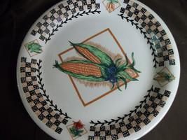 (1) TABLETOPS UNLIMITED Garden Fresh Corn Dinner Plate - $6.79