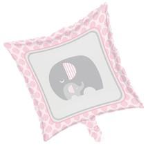Little Peanut Girl Metallic Foil Balloon Pink Elephant Baby Shower - $4.39