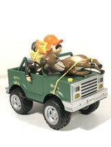 Cabelas Gemmy Musical Antimated Jeep with Reindeer Hunters - $69.29
