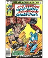 Captain America Comic Book #244 Marvel Comics 1980 VERY FINE- - $3.75