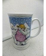 Royal Doulton - The Party, a bone china cup/mug - made in England, dated... - $10.89