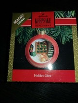 Vintage  1991 Hallmark Keepsake Ornament Holiday Glow NIB Magic Light - $12.86