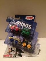 Thomas & Friends DC Super Minis 4 pack Wonder Woman Batman Green Arrow S... - $7.43