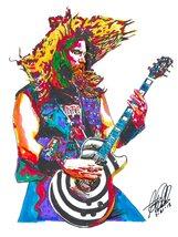 "Zakk Wylde, Ozzy, Guitar Player, Hard Rock, Heavy Metal, 18""x24"" Art Pri... - $19.99"