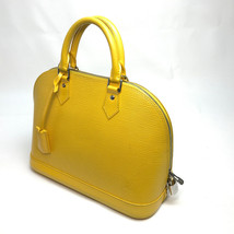 AUTHENTIC LOUIS VUITTON Epi AlmaMM Tote Bag Hand Bag Epi Leather M40629 - €676,07 EUR