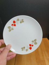 Noritake Casual China Berry Time Bread Plate White Red Strawberries - $4.90