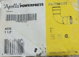Apollo Piping Systems Powerpress Carbon Steel PWR7481452 One One Half Inch image 2