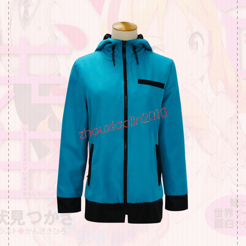 Primary image for Anime Eromanga Sensei Sagiri Izumi Cosplay Jacket Hoodie Coat Green Tops Costume