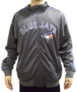MLB Toronto Blue Jays Men's Big & Tall Full Zip Tricot Reflective Track ... - $34.95+
