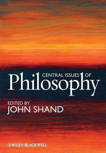 Primary image for Central Issues of Philosophy [Paperback] Shand, John