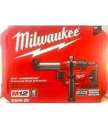 Milwaukee  M12 HAMMERVAC 2306-20 Universal Dust Extractor (Tool&Case Onl... - $48.51