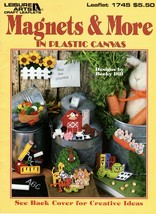 Magnets & More in Plastic Canvas School Days Bunnies Angel Hair Bows NOS - $5.95